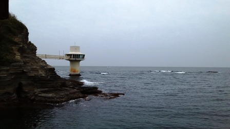勝浦 5月9日(火)の海