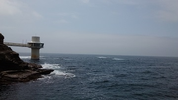 勝浦 5月15日(月)の海