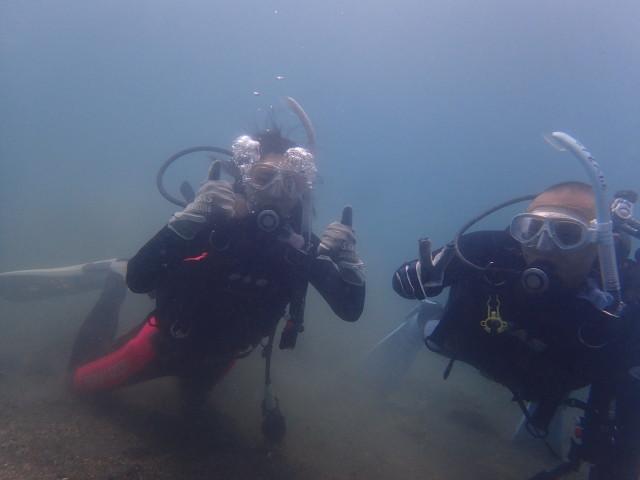 千葉県館山市の沖ノ島ビーチで体験ダイビング 2017/07/30