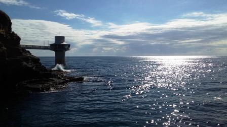12月7日(木) 勝浦の海